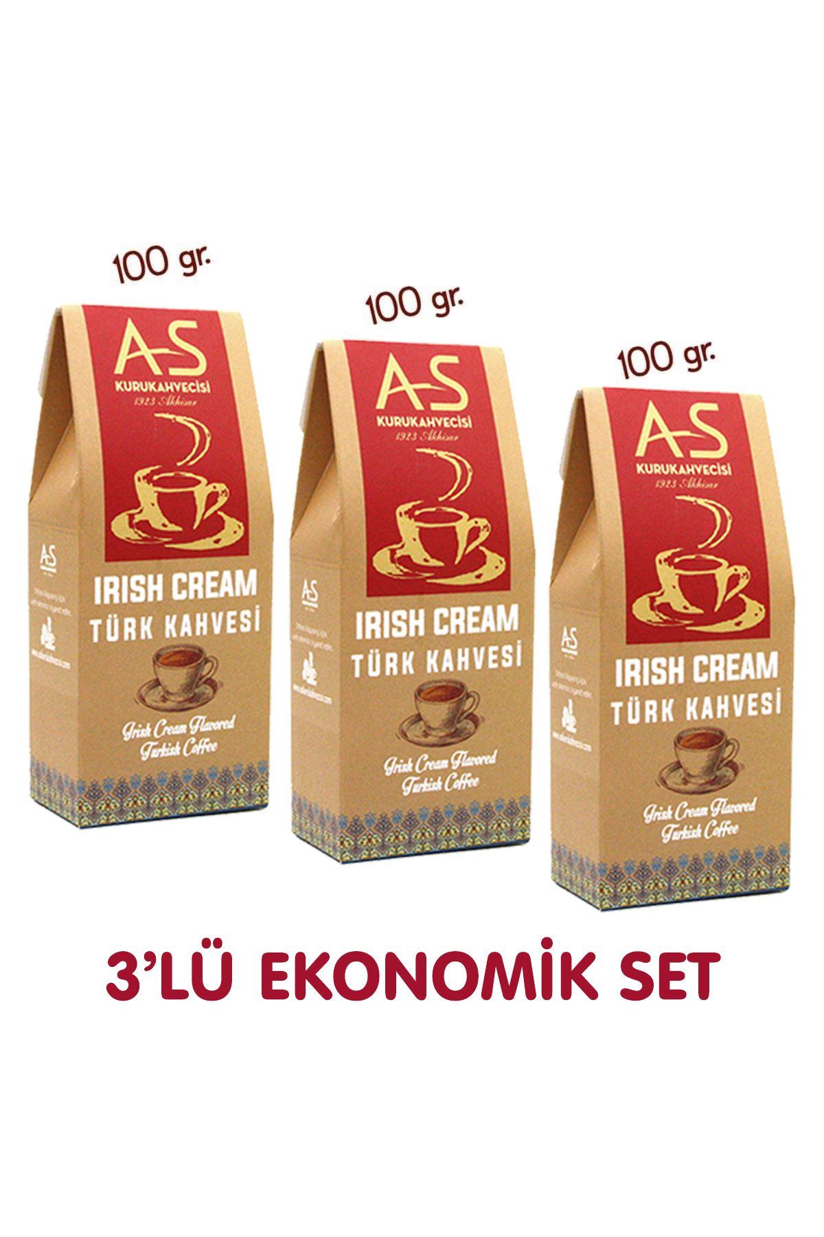 3'lü İrish Cream Türk Kahvesi Ekonomik Set