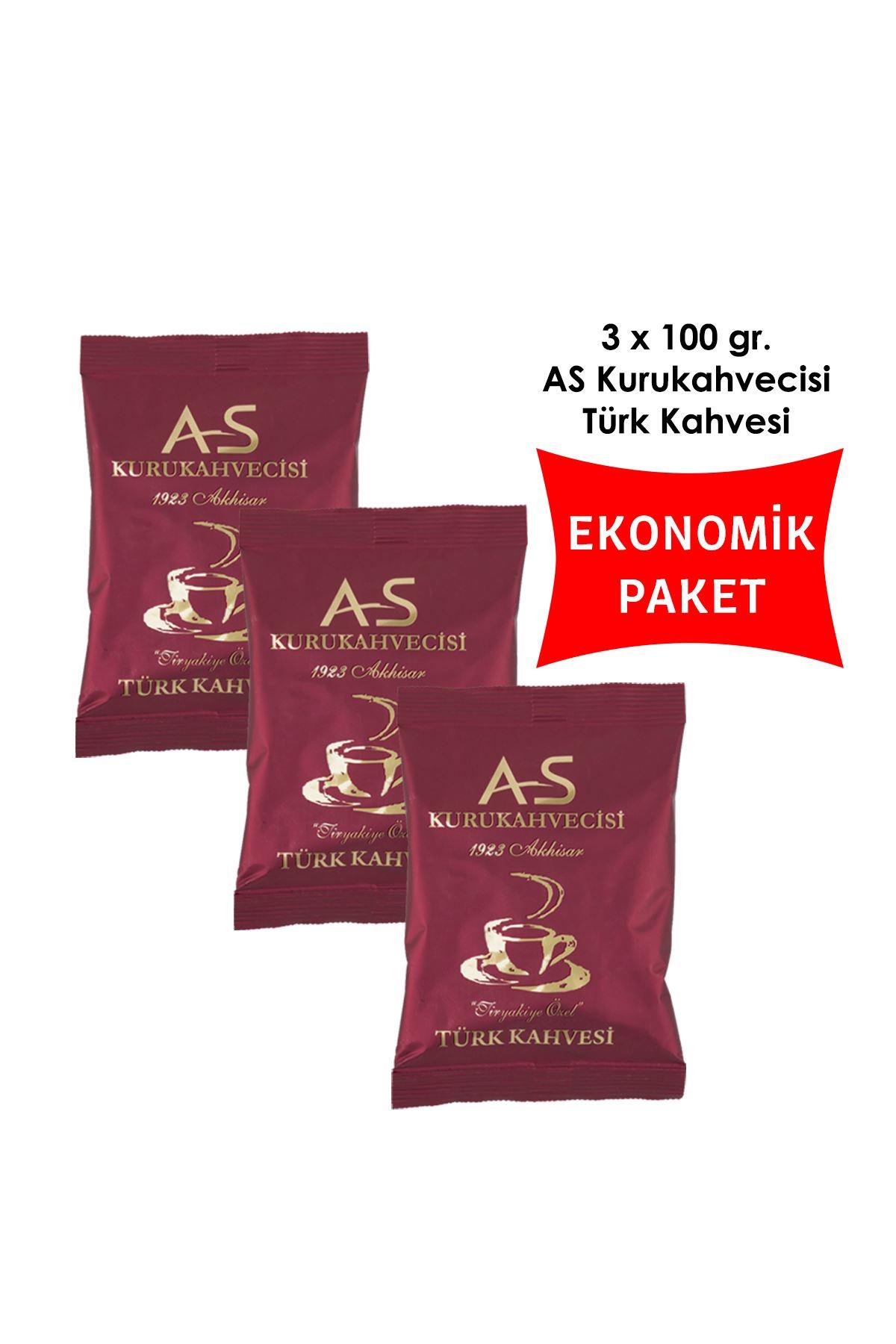 Türk Kahvesi 100 gr. Folyo x 3 Adet