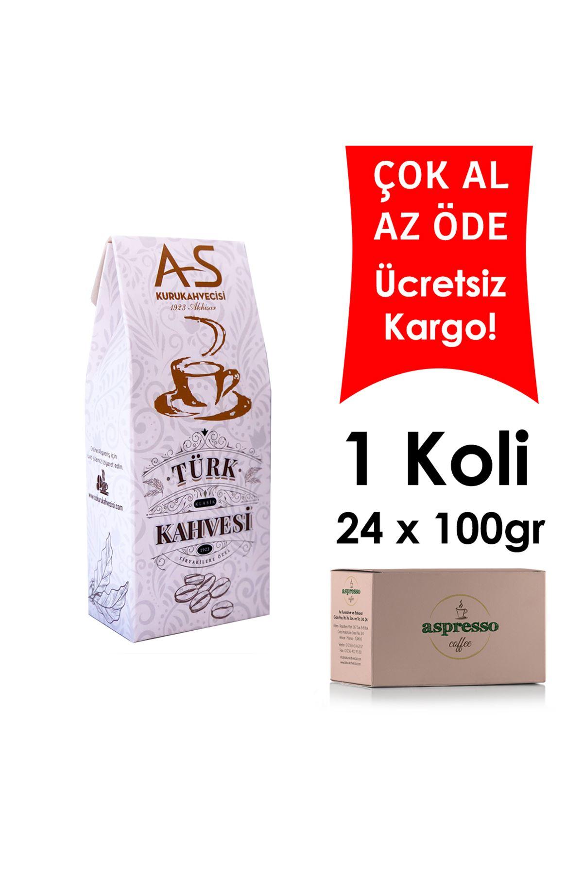 Türk Kahvesi 100 gr. Kutu x 24 Adet