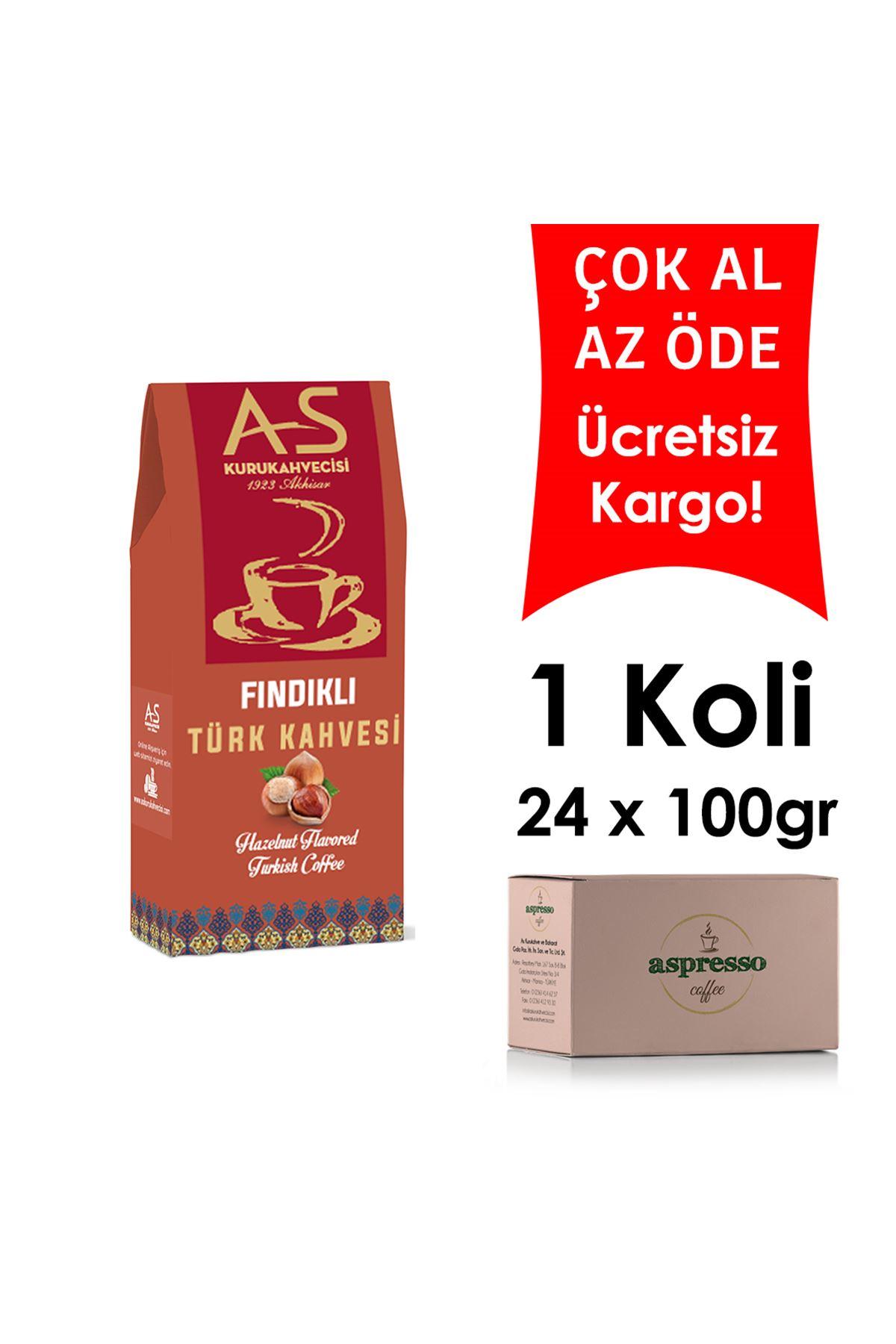 Fındıklı Türk Kahvesi 100 gr. Kutu x 24 Adet