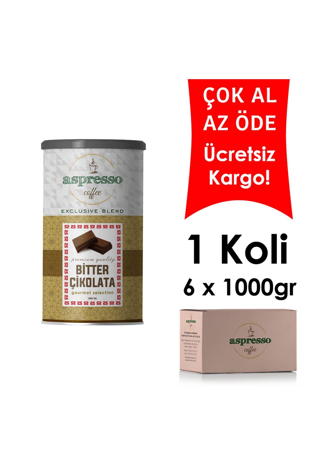 Bitter Sıcak Çikolata 1000 gr. x 6 Adet