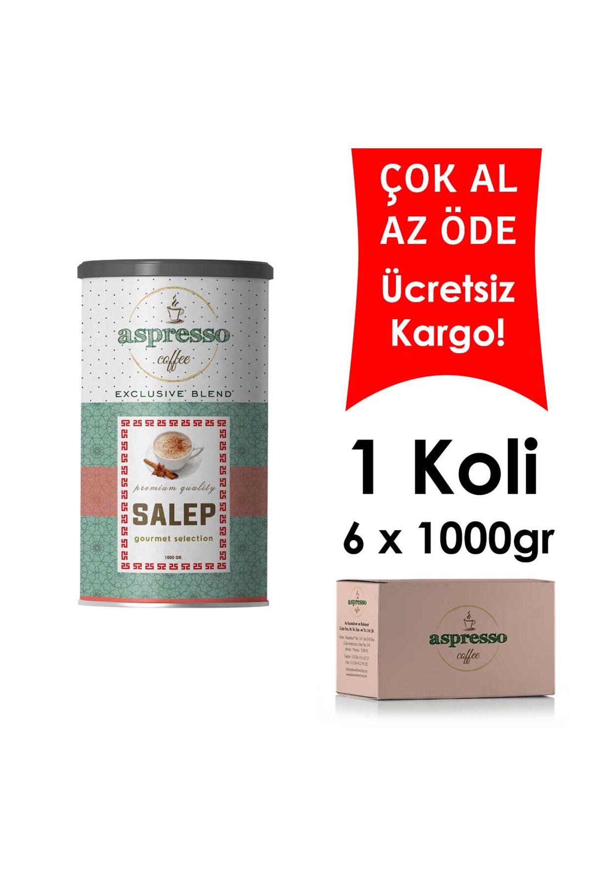 Salep 1000 gr. x 6 Adet