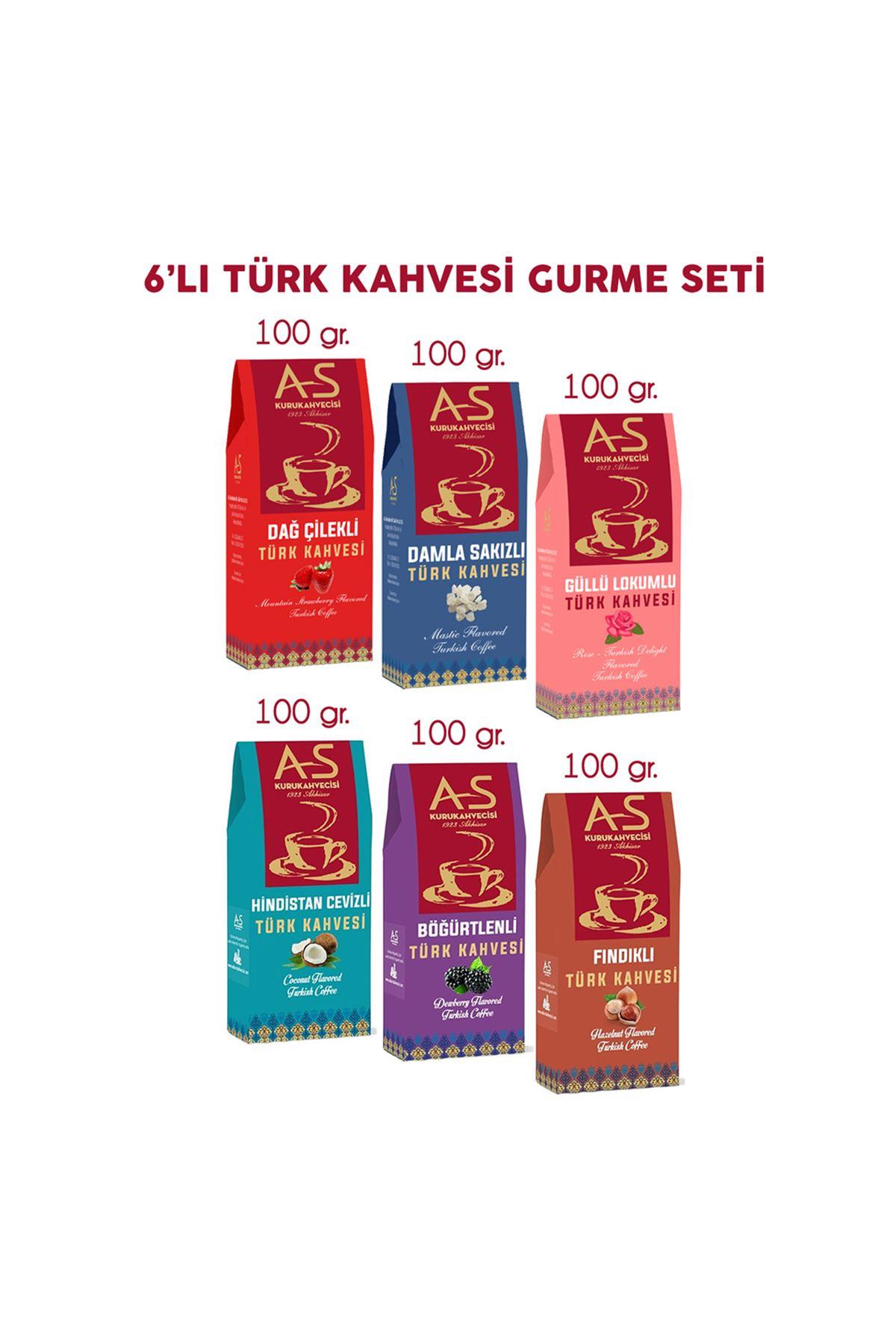 6'lı Türk Kahvesi Gurme Seti