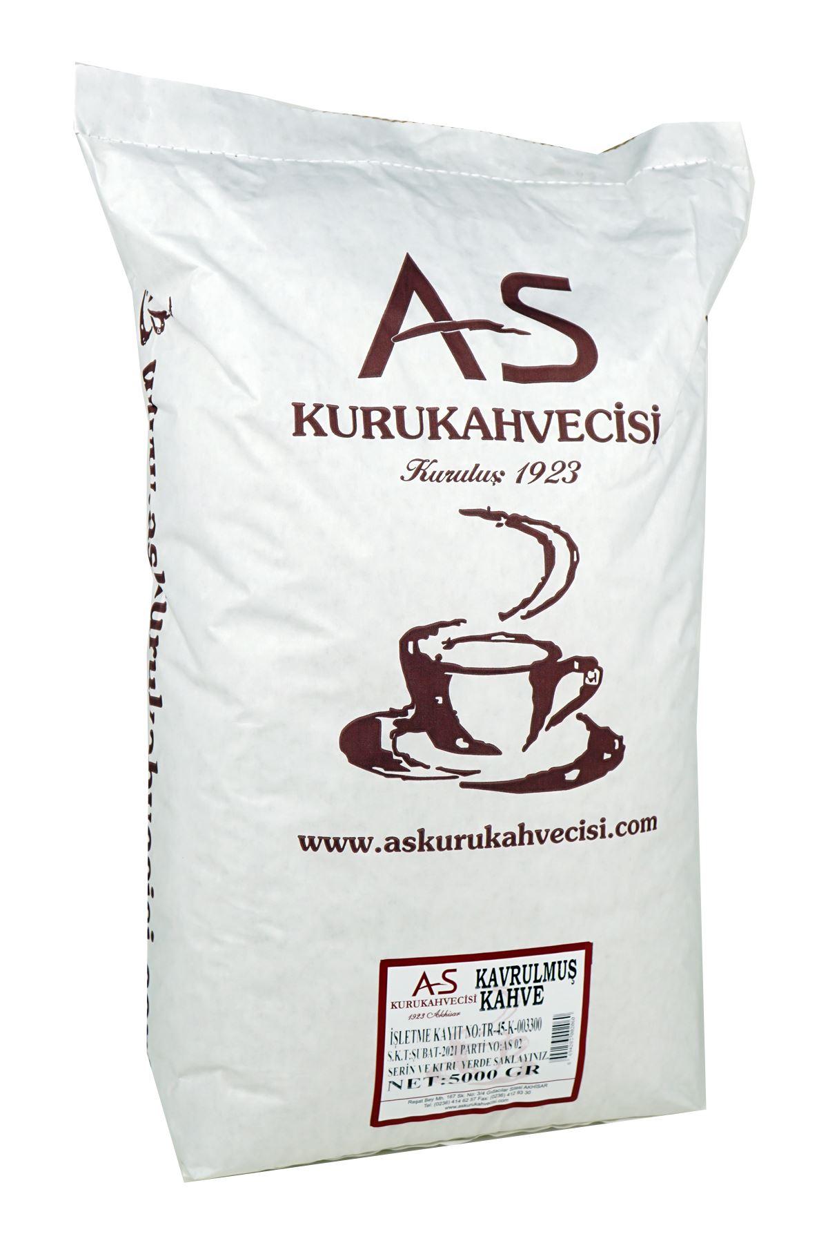 Türk Kahvesi Çekirdek 5000 gr.