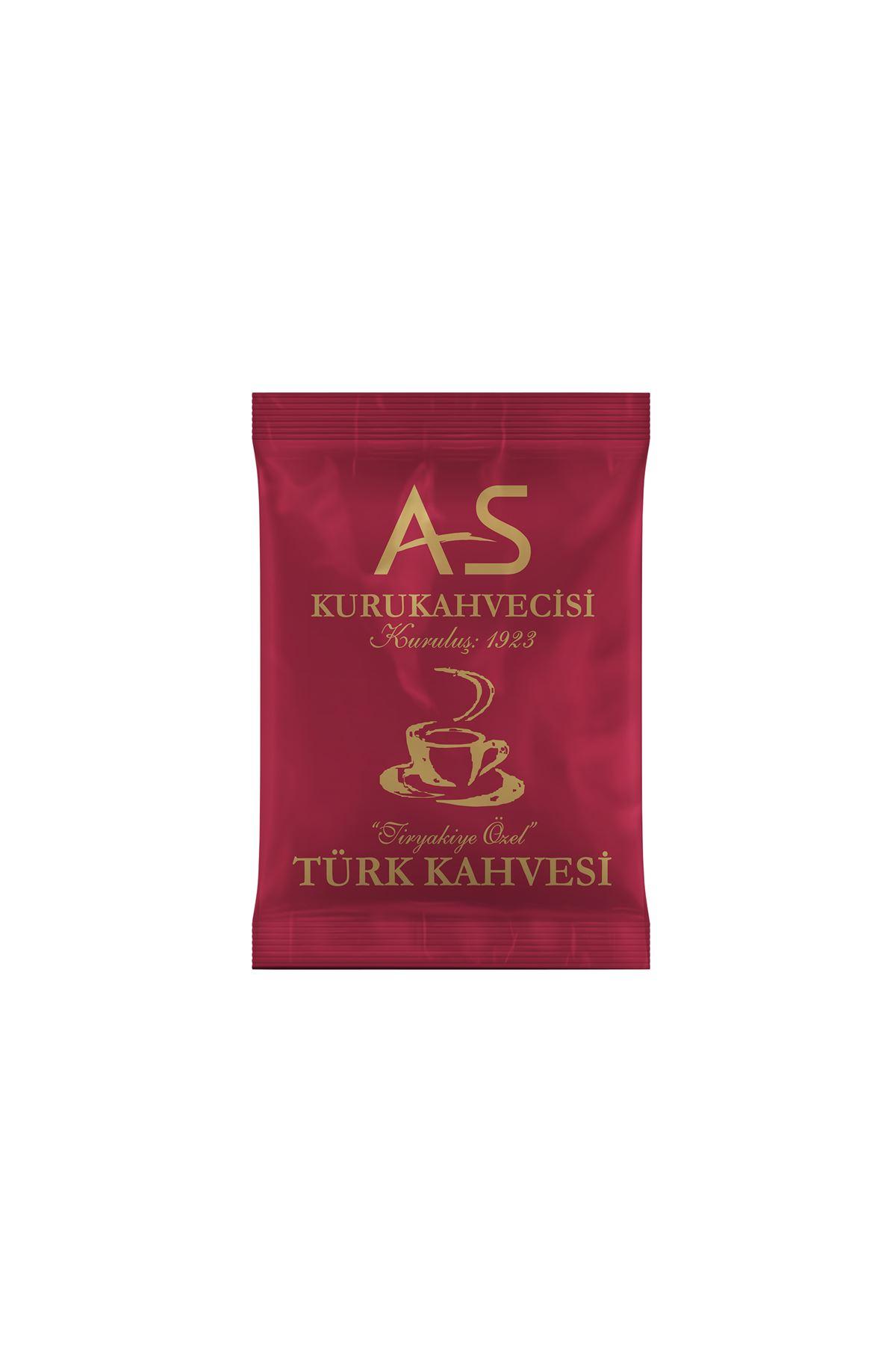 Türk Kahvesi 100 gr. Folyo x 12 Adet