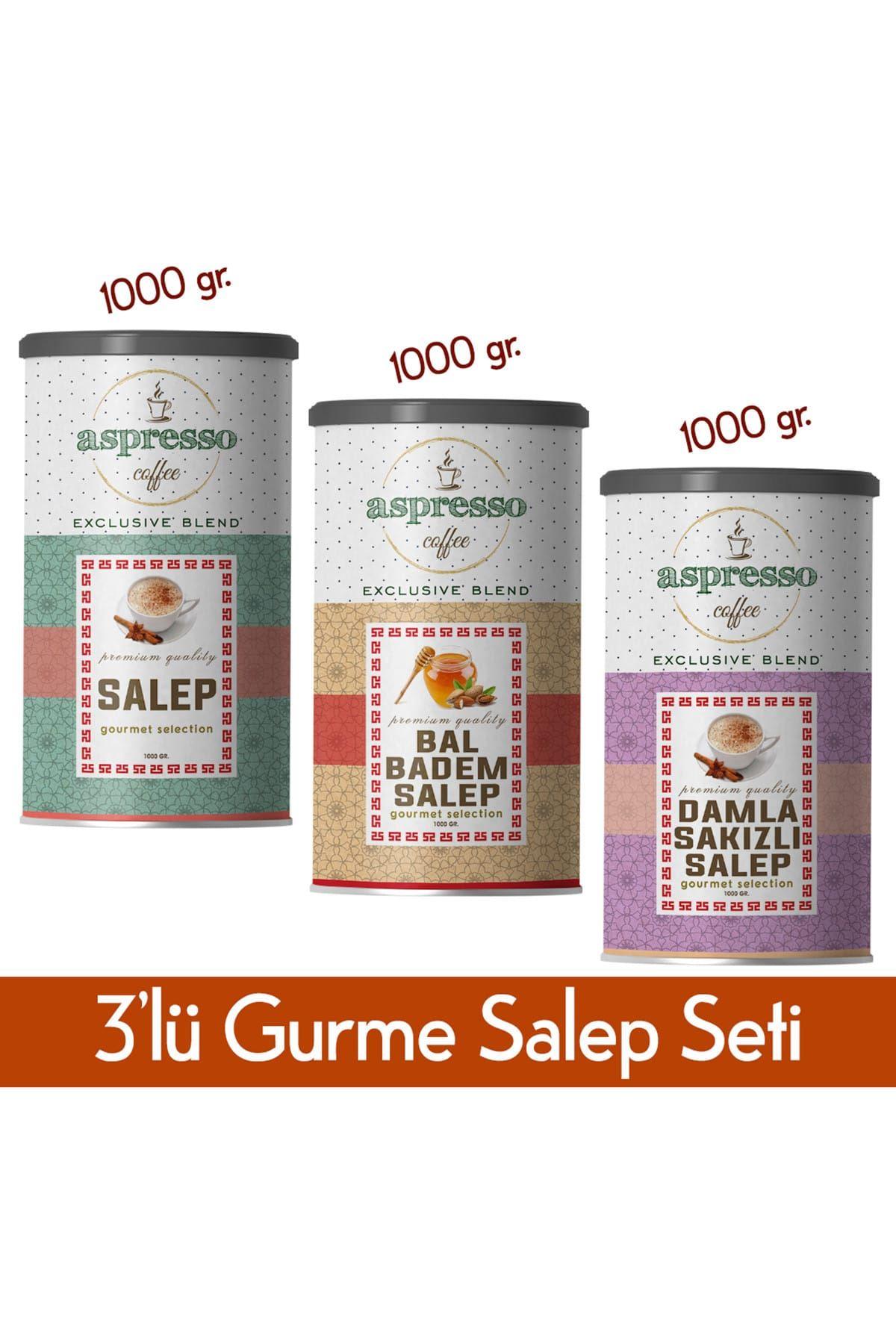 3'lü Salep Gurme Seti