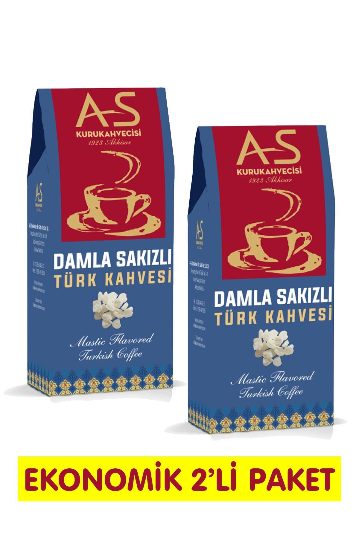 Damla Sakızlı Türk Kahvesi 100 gr. x 2 Adet