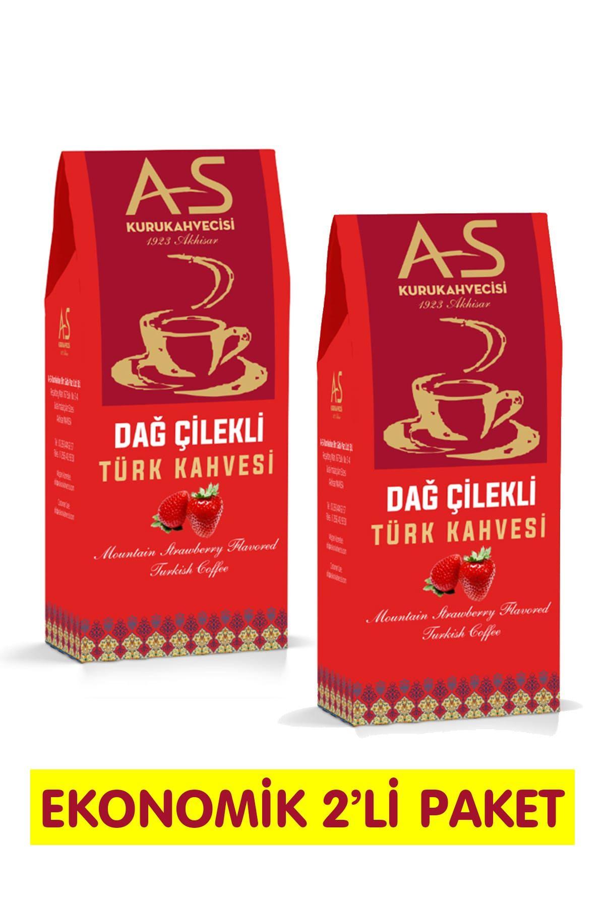 Dağ Çilekli Türk Kahvesi 100 gr. x 2 Adet