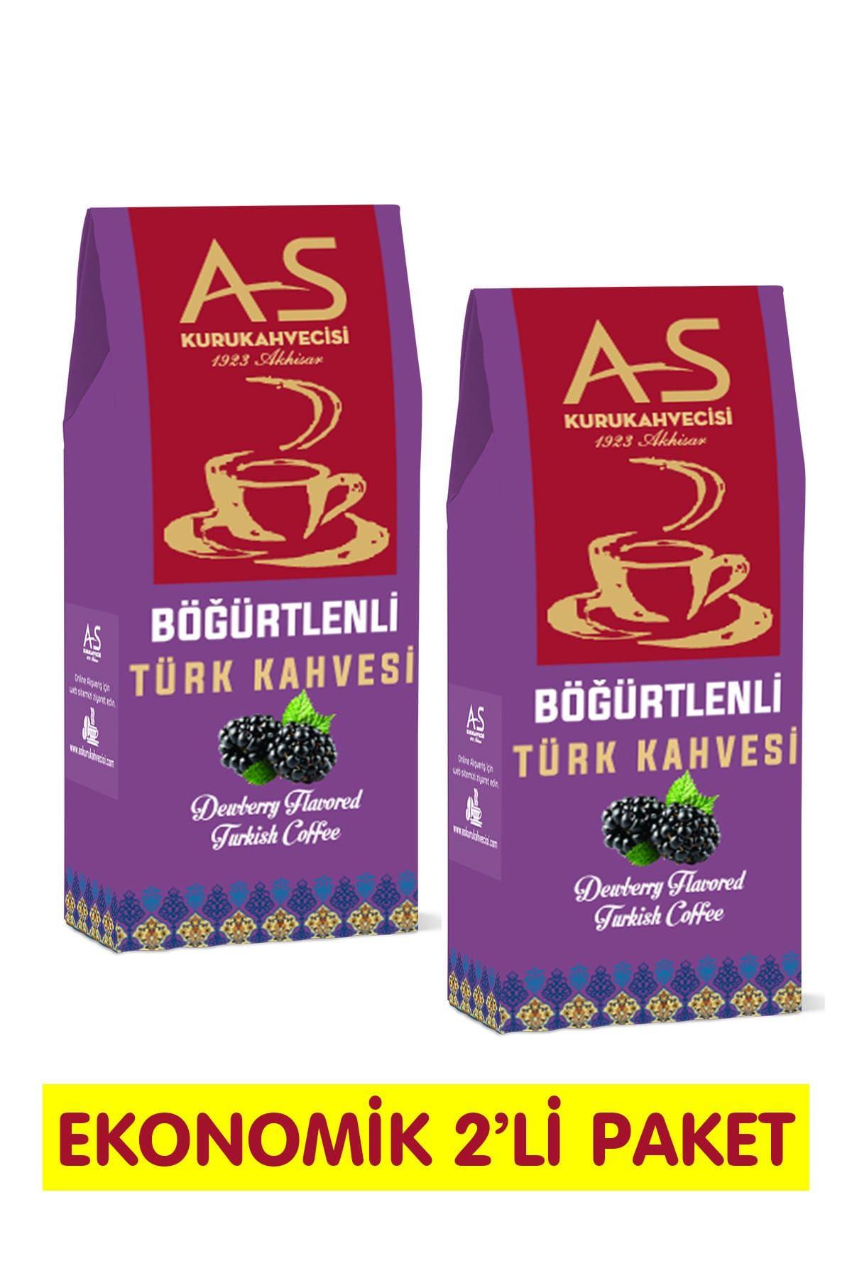 Böğürtlenli Türk Kahvesi 100 gr. x 2 Adet