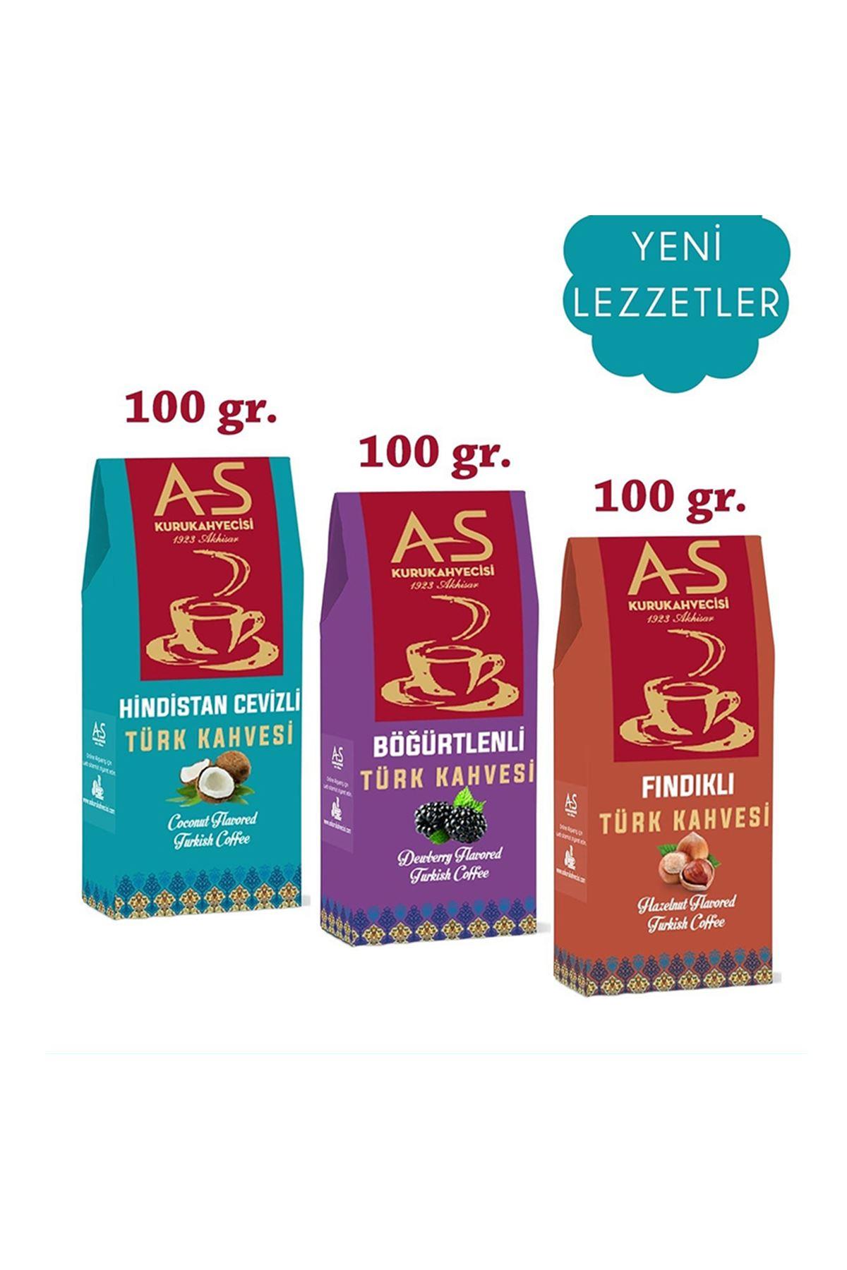 3'lü Türk Kahvesi Gurme Seti Yeni Lezzetler