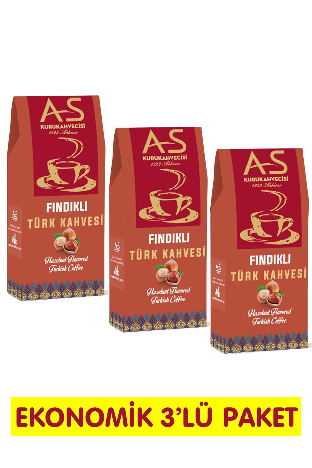 Fındıklı Türk Kahvesi 100 gr. x 3 Adet