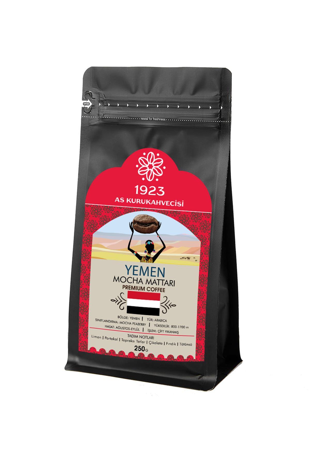 Yemen Mocha Mattari Filtre Kahve 250 gr.