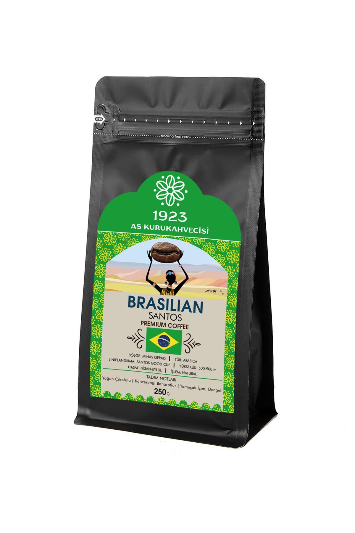 Brasilian Santos Filtre Kahve 250 gr.