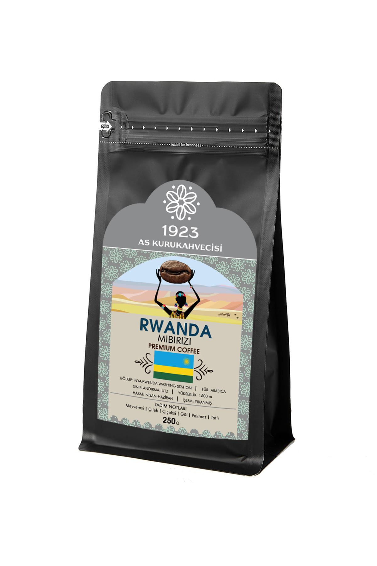 Rwanda Mibirizi Filtre Kahve 250 gr.
