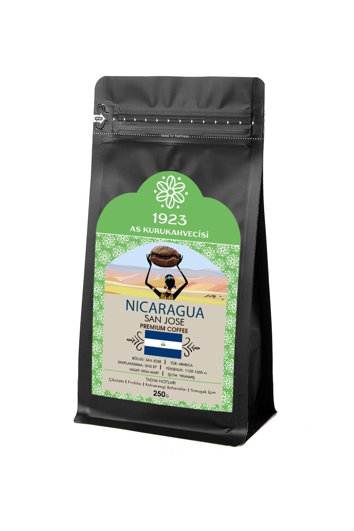 Nicaragua San Jose Filtre Kahve 250 gr.