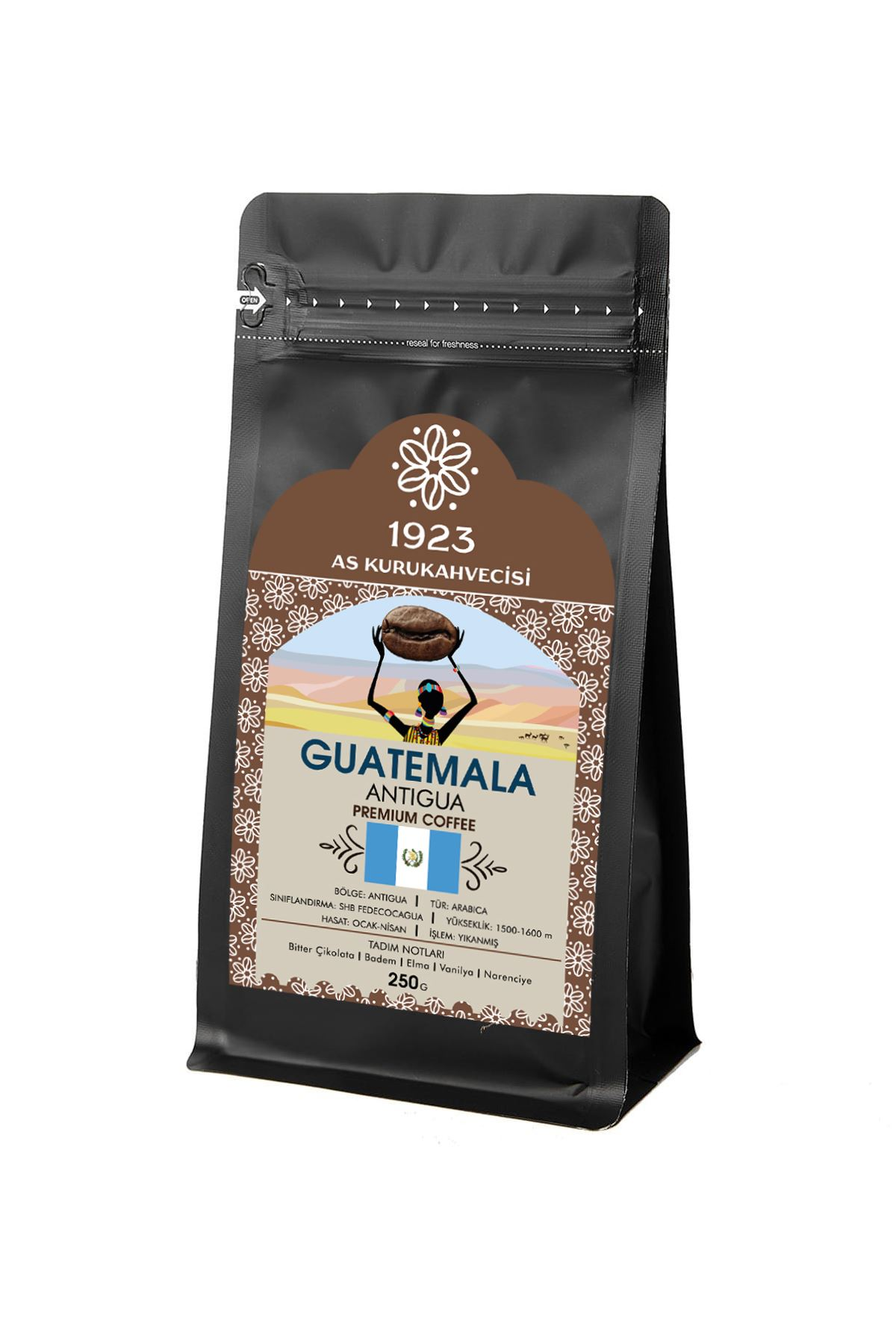 Guatemala Antigua Filtre Kahve 250 gr.