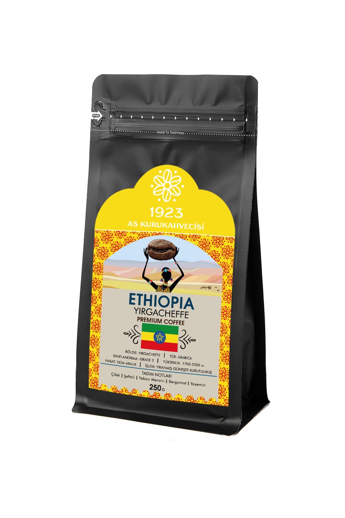 Ethiopia Yirgacheffe Filtre Kahve 250 gr.