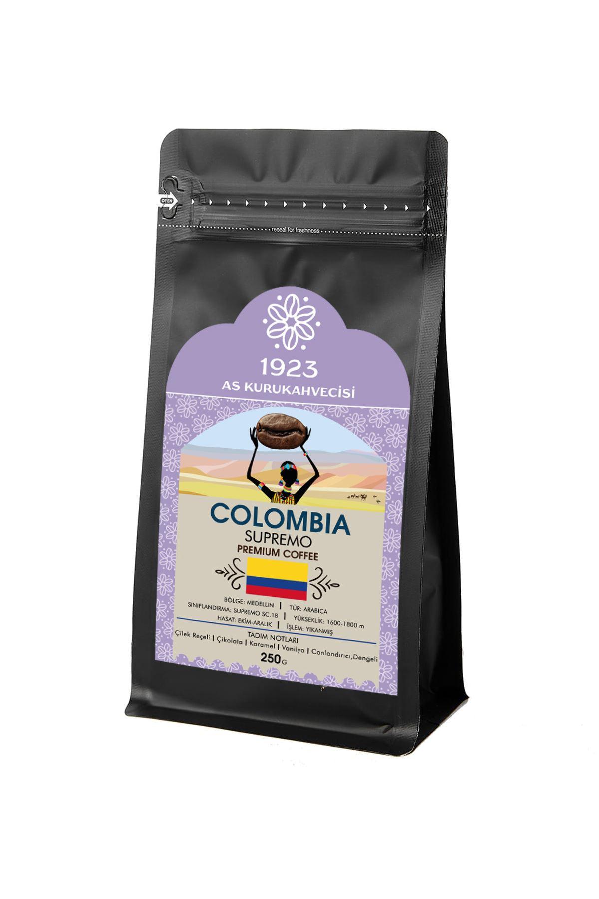 Colombia Supremo Filtre Kahve 250 gr.