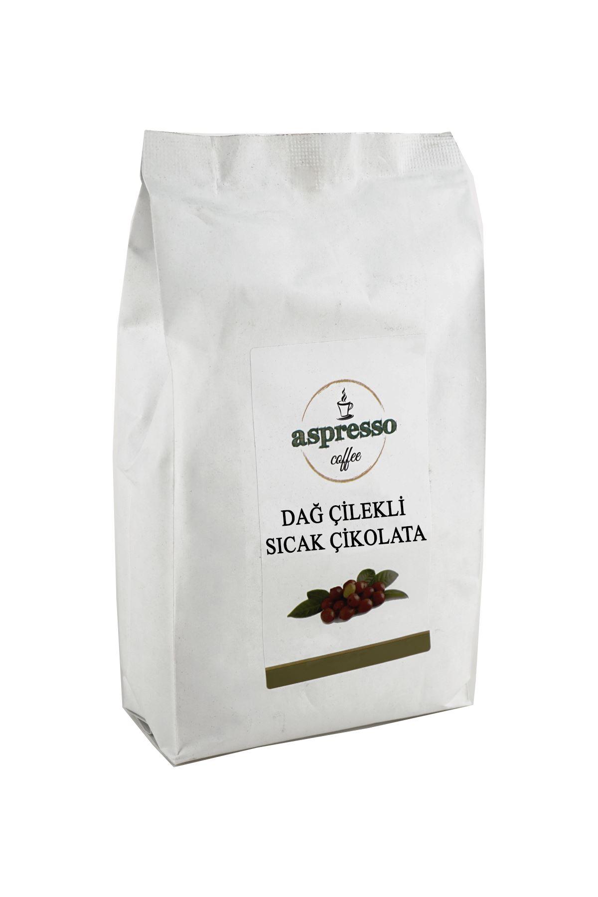 Dağ Çilek Sıcak Çikolata 1000 gr.