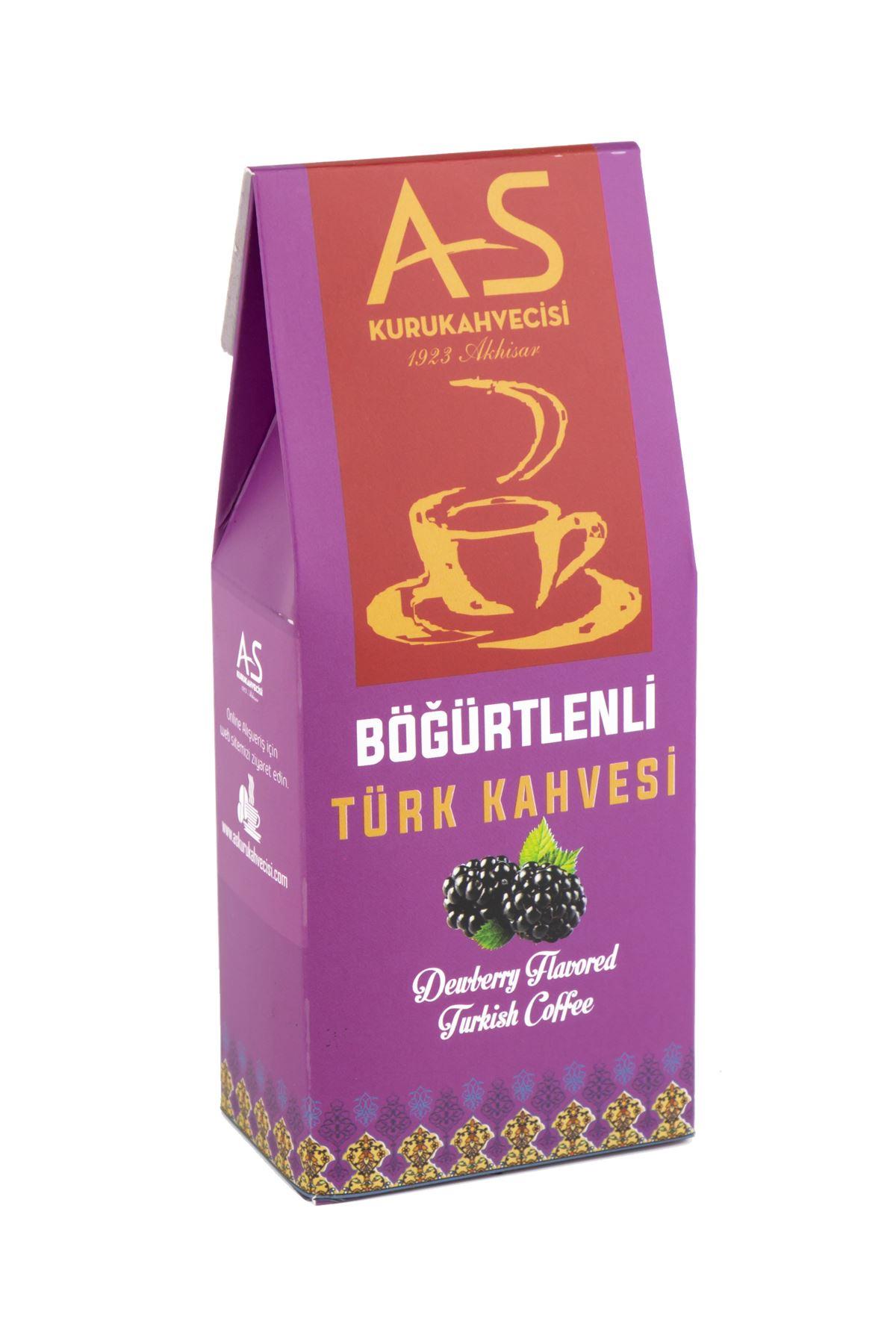 Böğürtlenli Türk Kahvesi 100 gr. Kutu