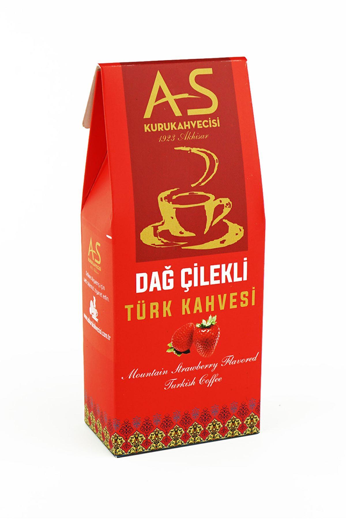 Dağ Çilekli Türk Kahvesi 100 gr. Kutu
