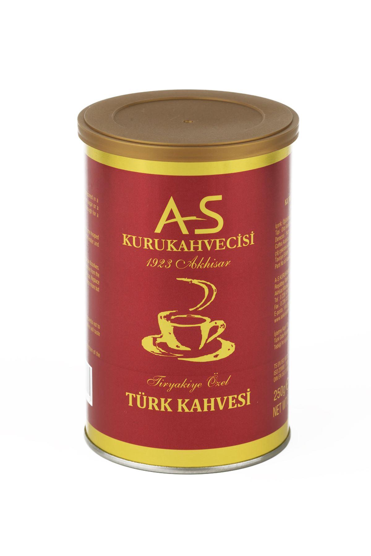 Türk Kahvesi 250 gr. Teneke
