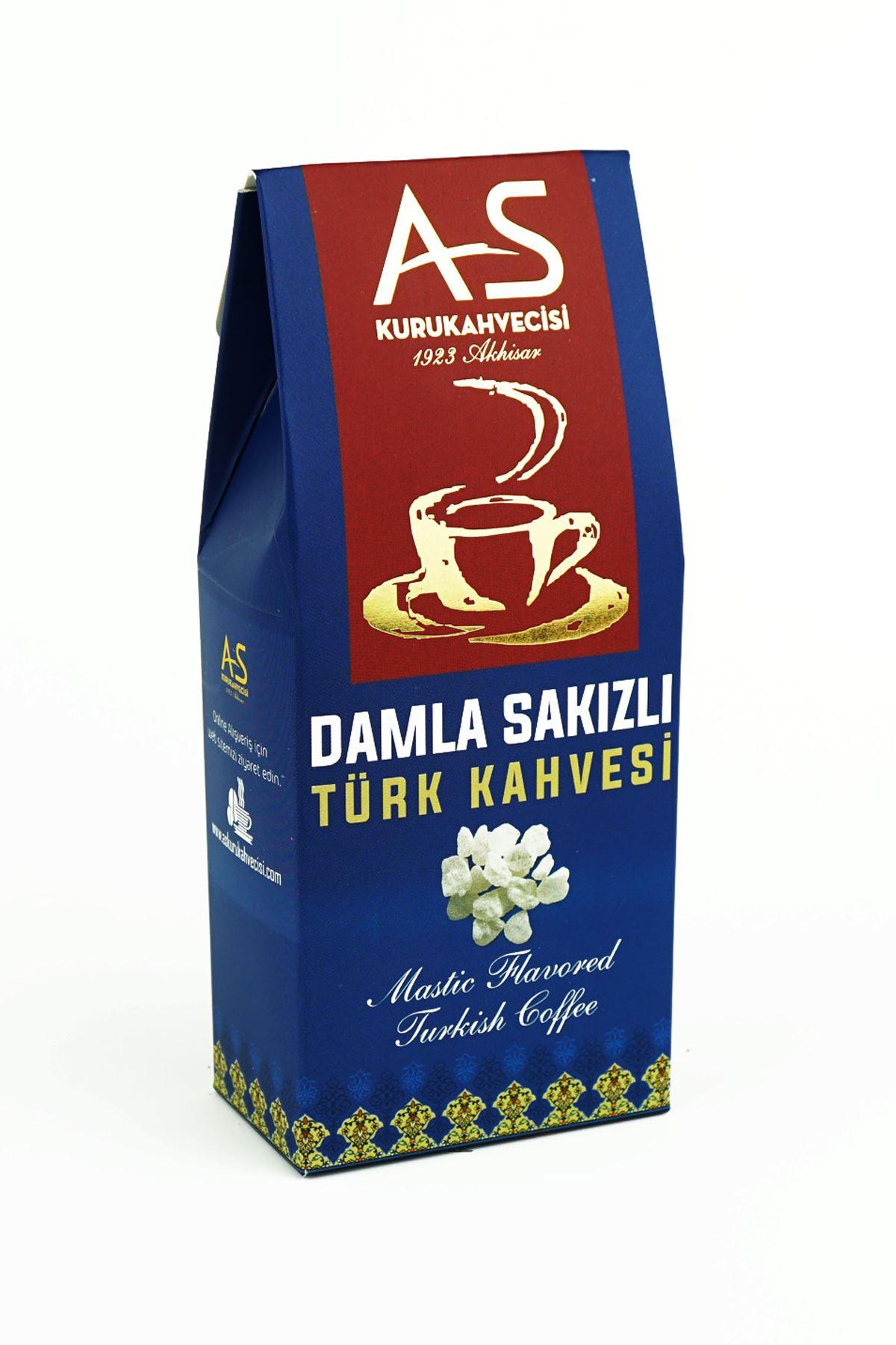 Damla Sakızlı Türk Kahvesi 100 gr. Kutu
