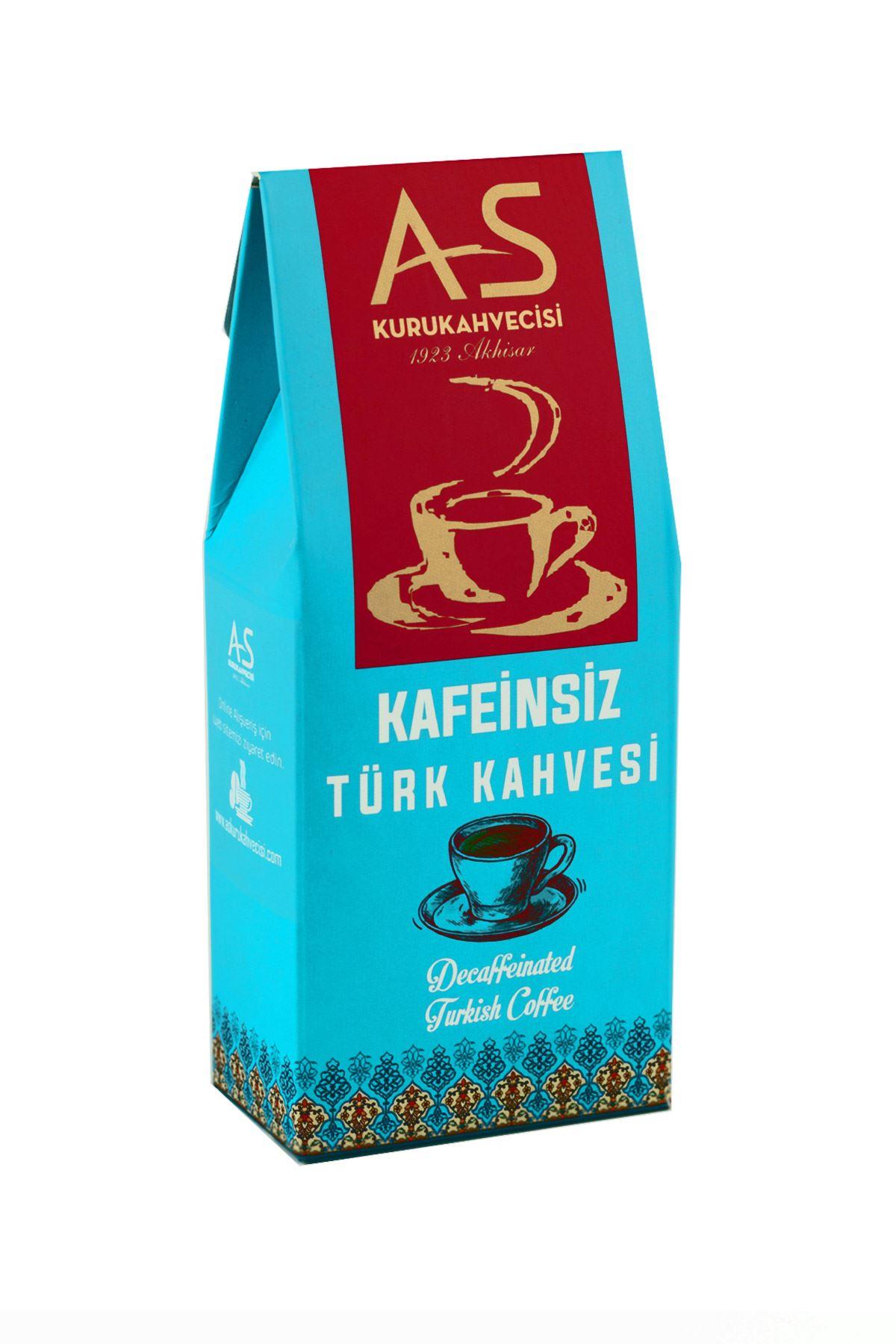 Kafeinsiz Türk Kahvesi 100 gr. Kutu
