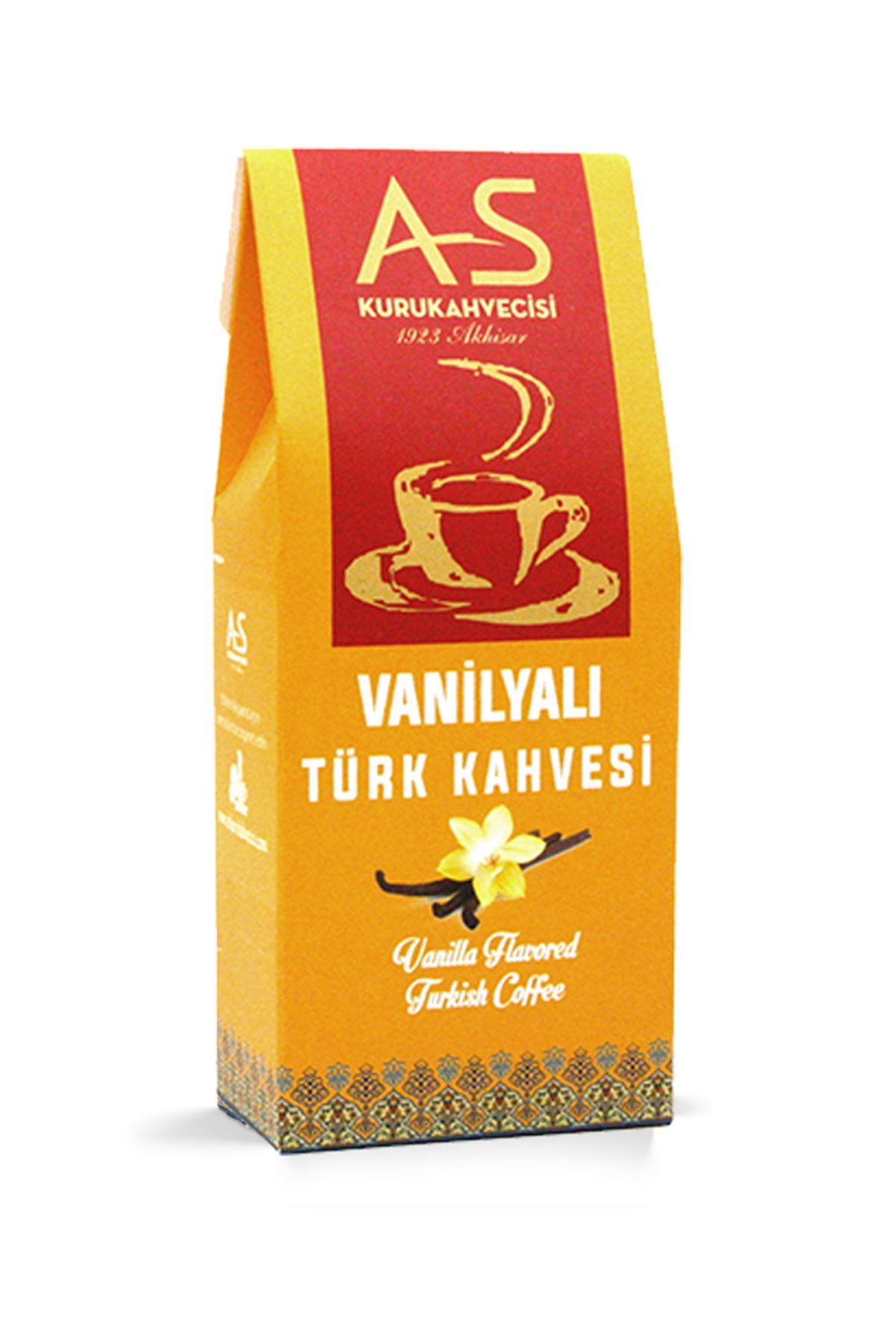 Vanilyalı Türk Kahvesi 100 gr. Kutu