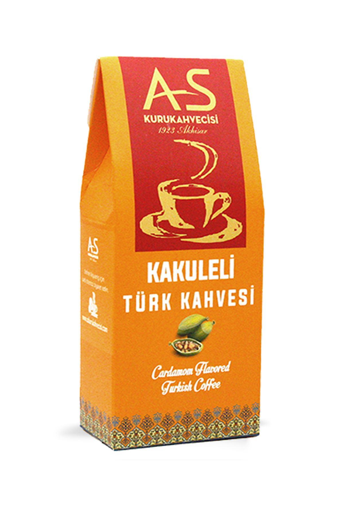 Kakuleli Türk Kahvesi 100 gr. Kutu