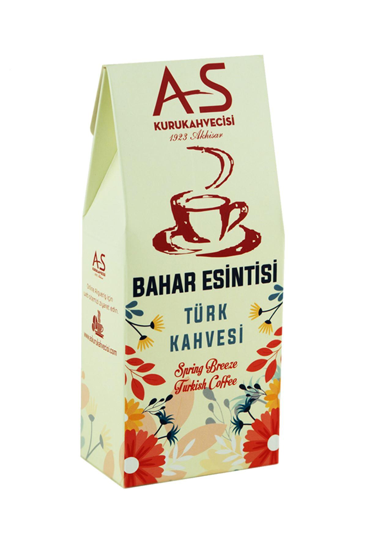 Bahar Esintisi Türk Kahvesi 100 gr. Kutu