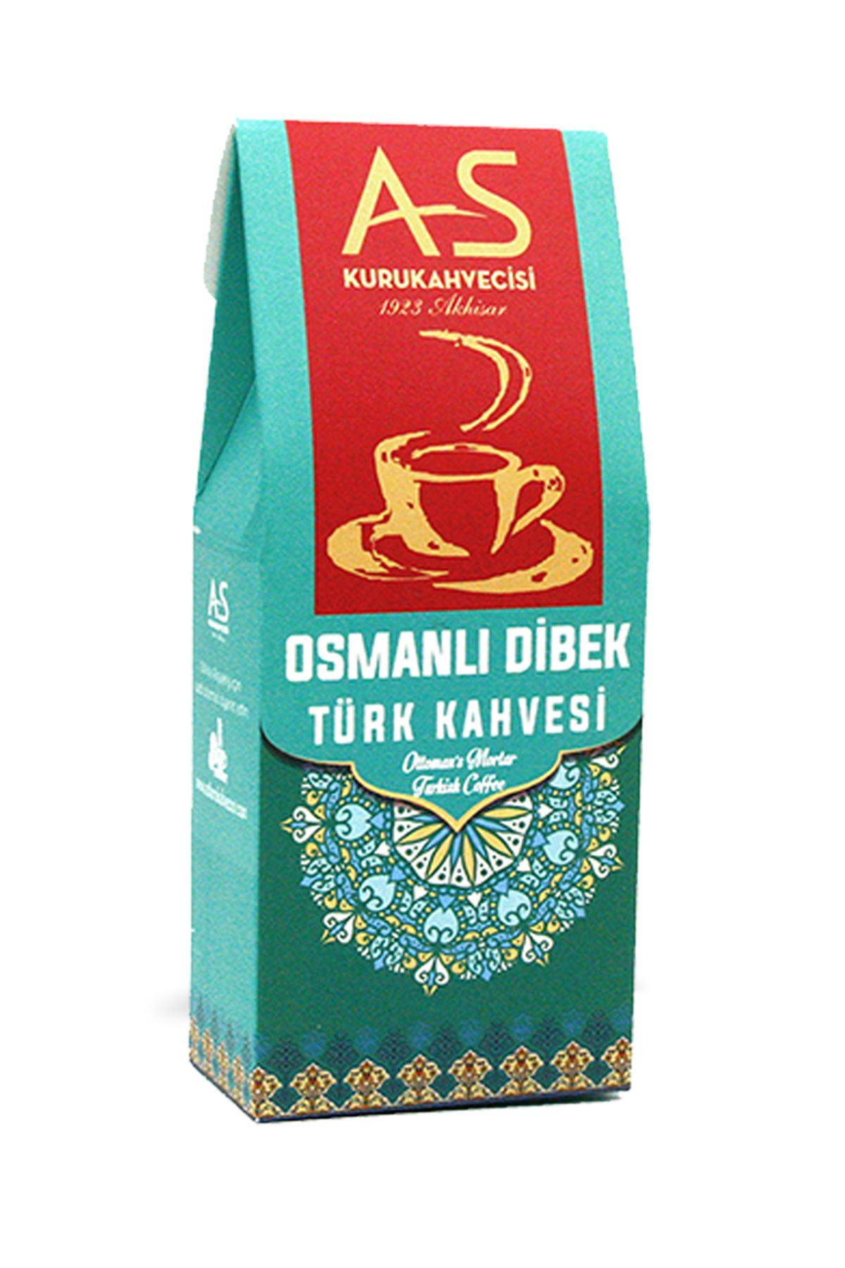 Osmanlı Dibek Türk Kahvesi 100 gr. Kutu